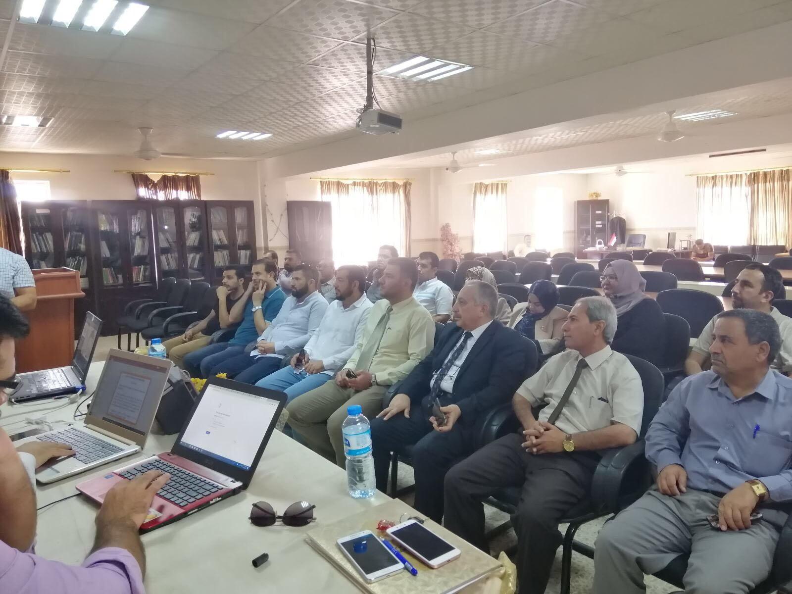 ورشة عمل / الجامعة التقنية الشمالية /الكلية التقنية الادارية الموصل